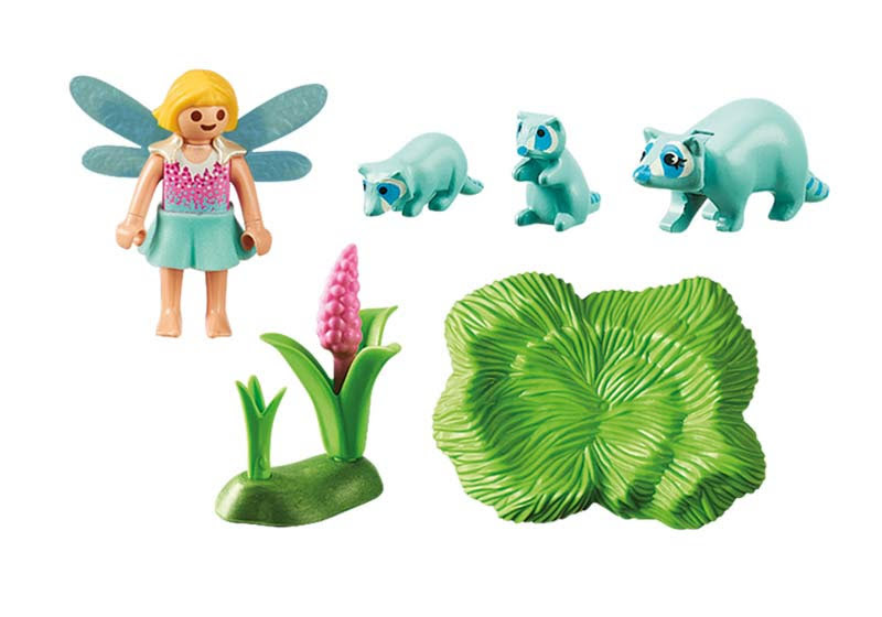 Contenido real de Playmobil® 9139 Niña Hada con Mapache