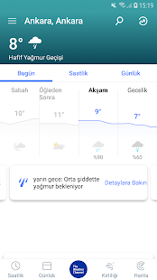Hava Durumu - The Weather Channel Screenshot