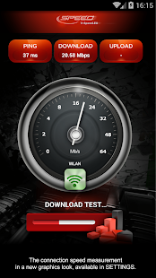 Internet Speed Test Screenshot