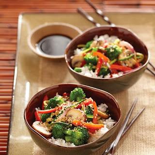 Garden Fresh Stir-Fried Vegetables