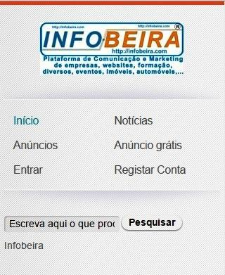 infobeira- screenshot