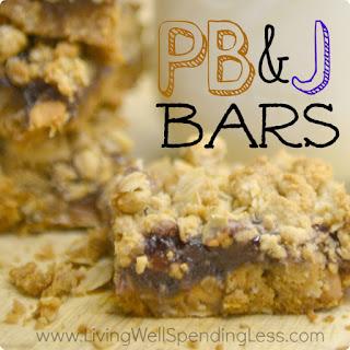 Peanut Butter & Jelly Bars