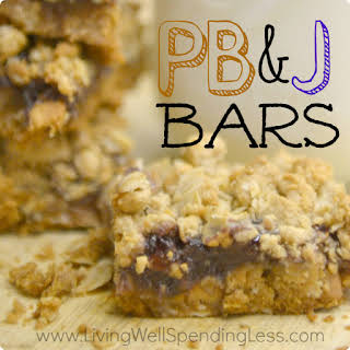 Peanut Butter & Jelly Bars.