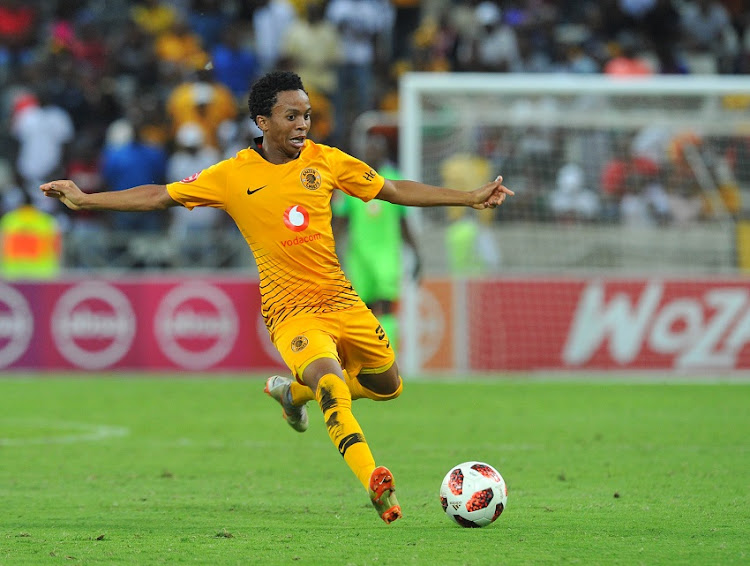 Nkosingiphile Ngcobo of Kaizer Chiefs during the Absa Premiership match between Supersport United and Kaizer Chiefs on the 15 March 2019 at Mbombela Stadium.