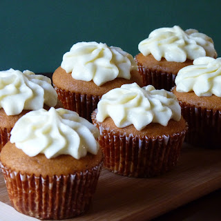 Tomato Soup Cupcakes with Mascarpone Frosting