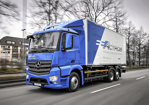 Mercedes recently revealed its eActros electric truck. Picture: DAIMLER