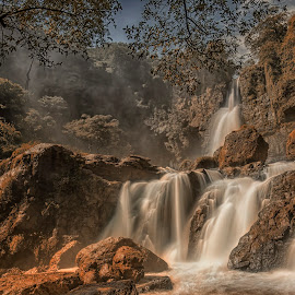 Cimarinjung by Mc Pujiyanta - Landscapes Caves & Formations ( landscapes, geopark, geotagged, waterscape, waterfall, lanscape )