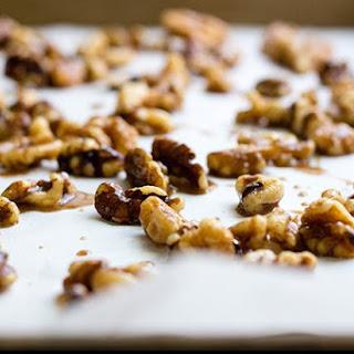Cinnamon Roasted Walnuts + Pumpkin Pie Yogurt