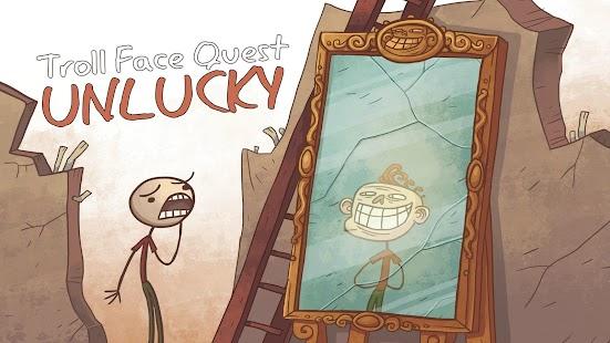 Troll Face Quest Unlucky Imagen do Jogo