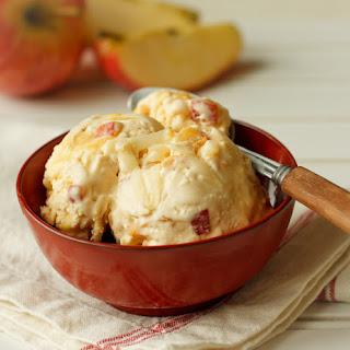 Caramel Apple & Cheddar Ice Cream