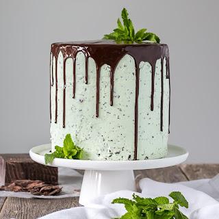 Mint Chocolate Chip Cake.