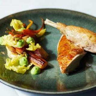 Joris Bijdendijks gebraden kip met schorseneer