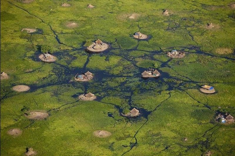 Sudd, os impenetráveis pântanos do Sudão do Sul