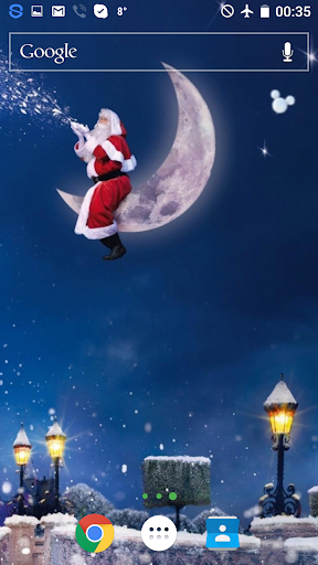 圣诞老人很快就4K住的墙纸