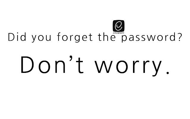 K's e-AMUSEMENT PASS password resetter