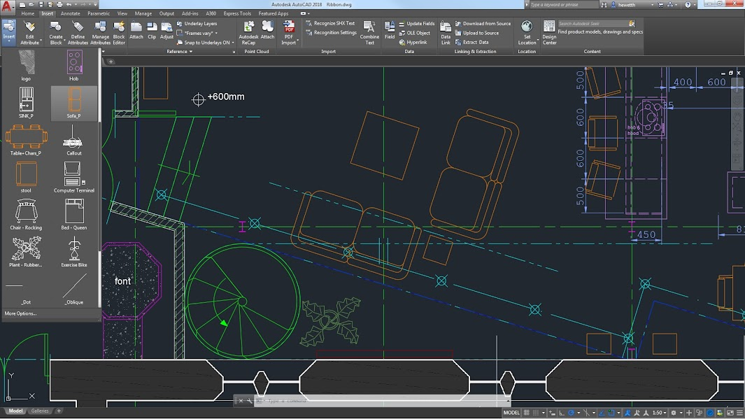 Phần mềm thiết kế đồ họa Autodesk AutoCAD 2018