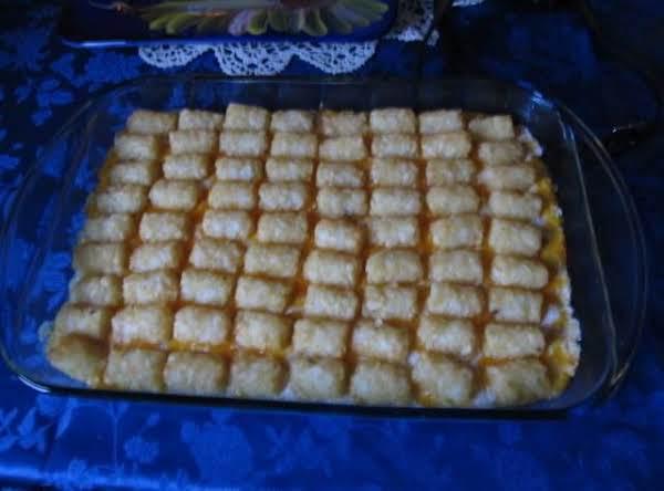 My Tater Tot Casserole Recipe