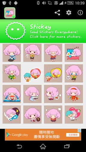 Stickey Little Japanese Girl