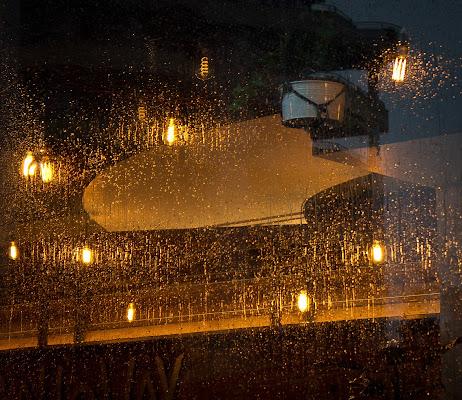 L'intensità luminosa della pioggia
