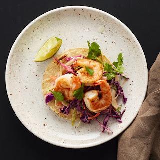 Shrimp Taco Tostadas.