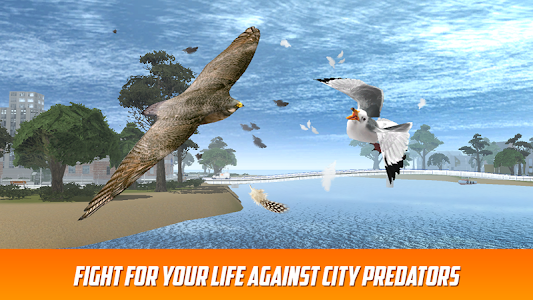 Seagull: Sea Bird Simulator 3D screenshot 2