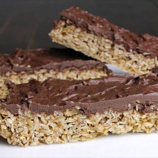 Microwave Oatmeal Granola Bars