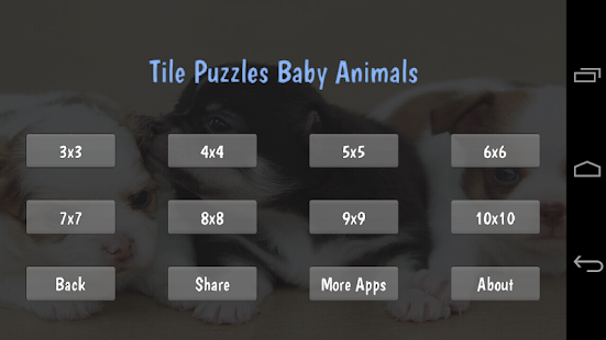 Tile Puzzles · Baby Animals - náhled