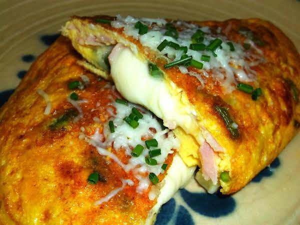 Ham & Asparagus Omelette