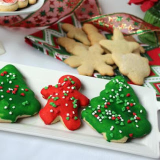 Nutmeg Sugar Cookies Christmas Recipes