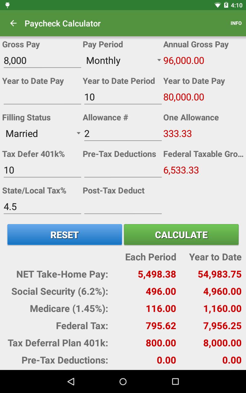 Financial Calculators screenshot #24