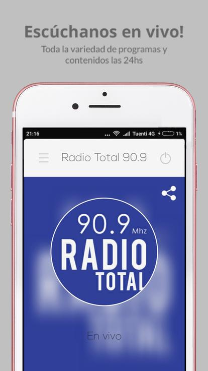Radio Total 90.9- screenshot