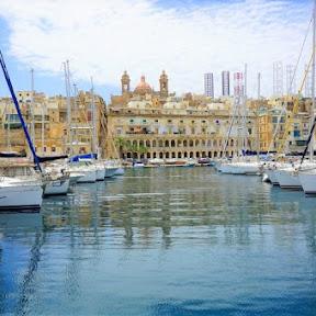 【世界の絶景】騎士団が大包囲戦に勝利したマルタの海の要塞都市、ヴィットリオーザ