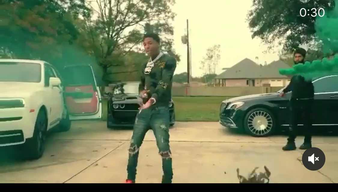 "Sweater from the ""Lost Motives""Music Video by NBA Youngboy"