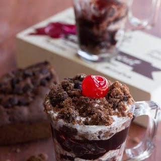 Black Forest Cake Trifle.