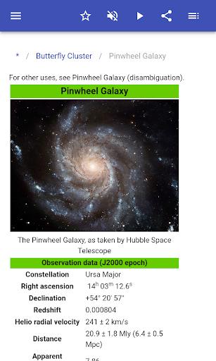 Messier Objects screenshot
