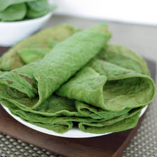 Paleo Spinach Crepes.