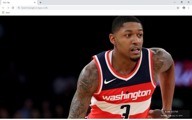 Bradley Beal New Tab & Wallpapers Collection