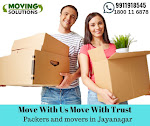Top Rated and Verified Movers and Packers in Jayanagar