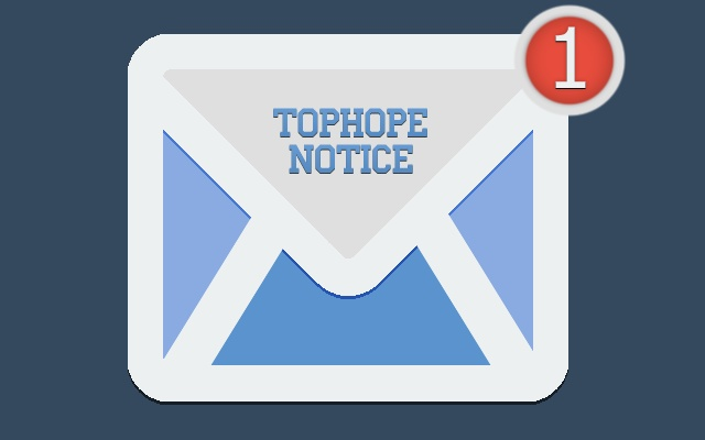 Tophope notice