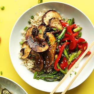30-minute Portobello Mushroom Stir-Fry.