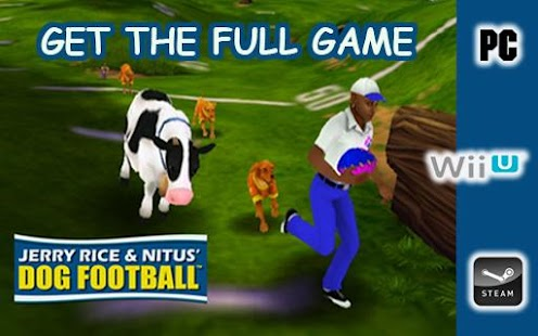 Jerry Rice Dog Football- screenshot thumbnail