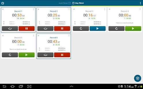 Multi Timer StopWatch - screenshot thumbnail