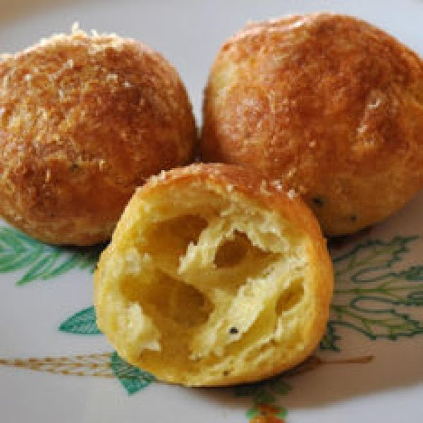 Place in oven and bake until puffed and golden brown, rotating pan mid baking,...