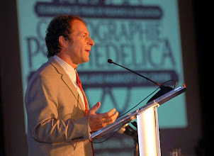 Photo: Dr. Rick Doblin at Cartographie Psychedelica in Oakland, CA, December 2011.
