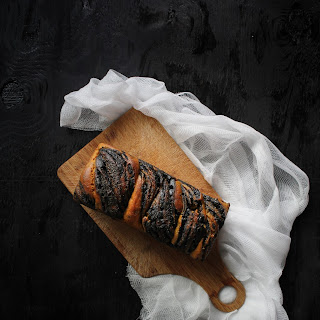 Sourdough Kabocha & Black Sesame Babka