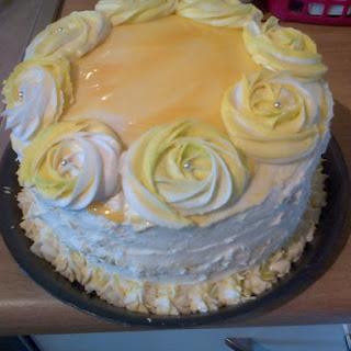 ~ Lemon Curd Cake ~