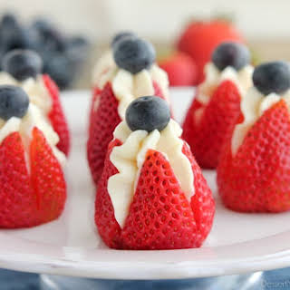 Strawberry Blueberry Dessert Cream Cheese Recipes.