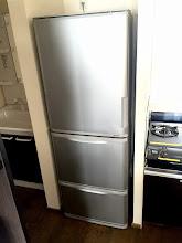 Photo: 冷蔵庫も大きいです。