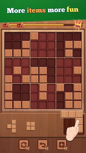 Woody Block - Blockudoku Puzzle modavailable screenshots 3