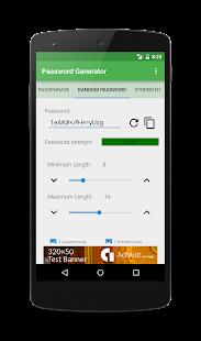 Password Generator - náhled